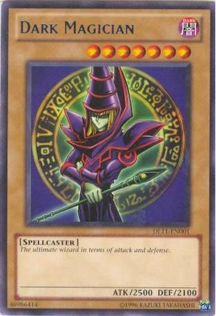 Dark Magician - Blue - DL11-EN001 - Rare - Unlimited Edition