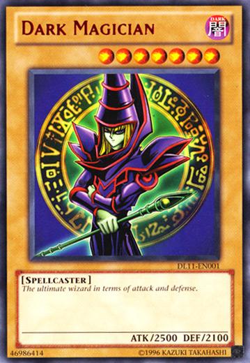 Dark Magician - Red - DL11-EN001 - Rare - Unlimited Edition