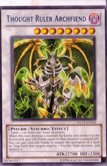 Thought Ruler Archfiend - Blue - DL11-EN014 - Rare - Unlimited Edition