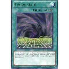 Fusion Gate - Green - DL11-EN016 - Rare - Unlimited Edition