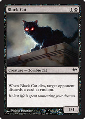 Black Cat on Channel Fireball