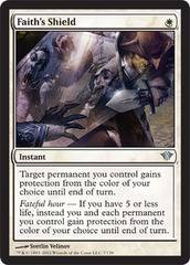 Faith's Shield - Foil