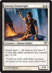 Gavony Ironwright - Foil