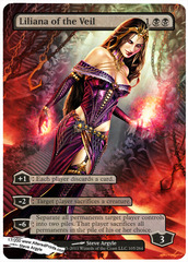 Liliana of the Veil - Altered