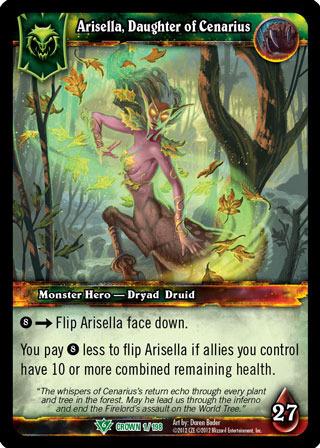 Arisella, Daughter of Cenarius