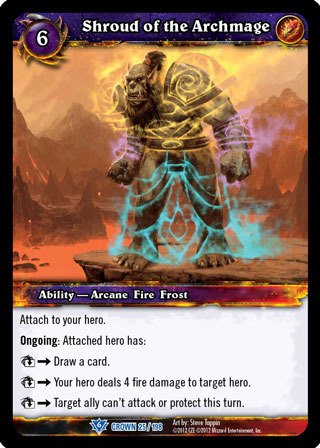 WOW WARCRAFT TCG CROWN OF THE HEAVENS SNIPER TRAINING X 3