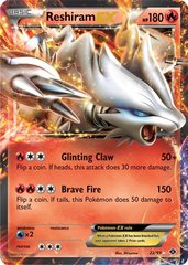 Reshiram-EX - 22/99 - Holo Rare ex on Channel Fireball