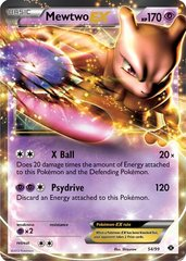 Mewtwo-EX - 54/99 - Holo Rare ex on Channel Fireball