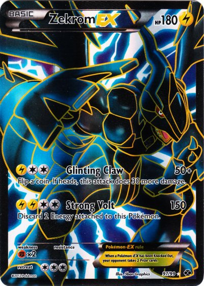 Zekrom-EX - 97/99 - Full Art Ultra Rare