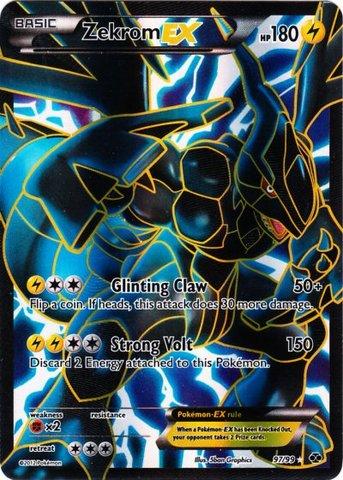 Zekrom-EX Full Art - 97 - B&W Next Destinies Ultra Rare