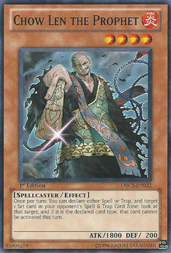 Chow Len the Prophet - ORCS-EN032 - Common - Unlimited Edition