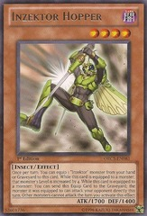 Inzektor Hopper - ORCS-EN081 - Rare - Unlimited Edition