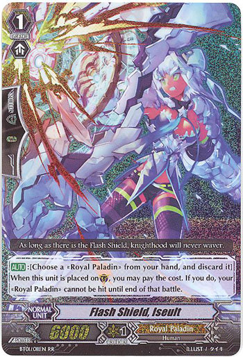 Flash Shield, Iseult - BT01/011EN - RR