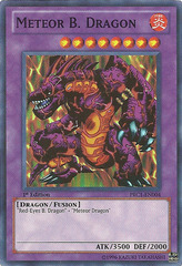 Meteor B. Dragon - PRC1-EN004 - Super Rare - 1st Edition