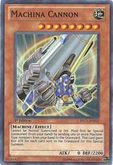 Machina Cannon - PRC1-EN011 - Super Rare - 1st Edition - Promo
