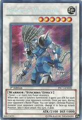 Gravity Warrior - PRC1-EN020 - Secret Rare - 1st Edition