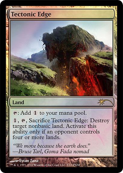 Tectonic Edge - Foil FNM 2012