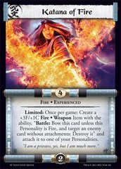 Katana of Fire (Experienced)