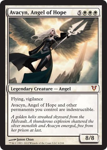 Foil Light Play English Apocalypse MTG Magic 1x Haunted Angel