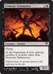 Demonic Taskmaster - Foil