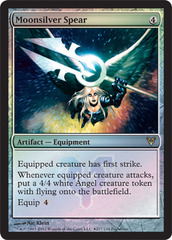 Moonsilver Spear - Foil - Prerelease Promo