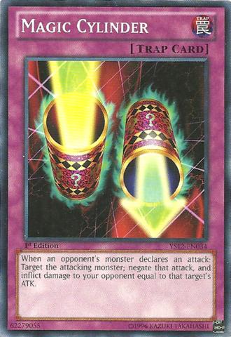 Magic Cylinder - YS12-EN034 - Common - 1st Edition
