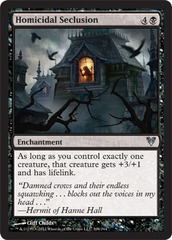 Homicidal Seclusion - Foil on Channel Fireball