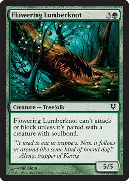 Flowering Lumberknot