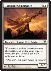 Goldnight Commander - Foil