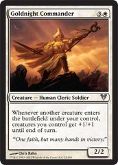Goldnight Commander - Foil