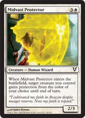 Midvast Protector - Foil on Channel Fireball