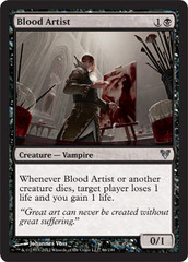 Blood Artist - Foil on Channel Fireball
