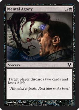 Mental Agony - Foil