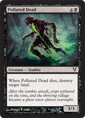Polluted Dead - Foil