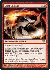 Dual Casting - Foil on Channel Fireball