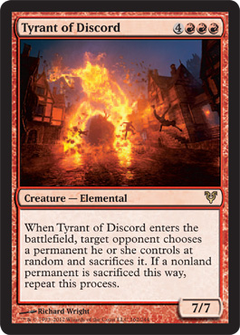 Tyrant of Discord - Foil