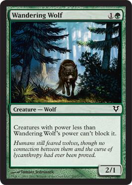 Wandering Wolf - Foil