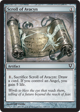 Scroll of Avacyn - Foil