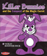 Killer Bunnies and the Conquest of the Magic Carrot: Violet Booster Deck