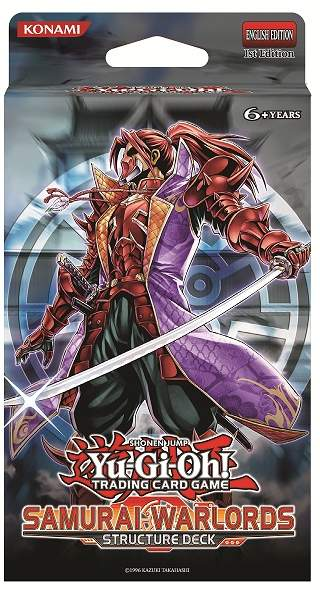 Samurai Warlords Structure Deck - 1st Edition
