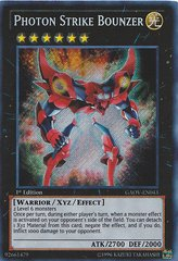 Photon Strike Bounzer - GAOV-EN043 - Secret Rare - 1st Edition