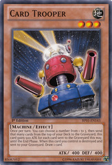 Card Trooper - BP01-EN143 - Common - 1st Edition