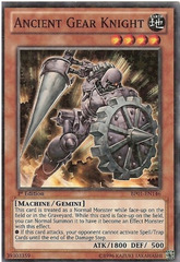 Ancient Gear Knight - BP01-EN146 - Starfoil Rare - 1st Edition on Channel Fireball