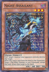 Night Assailant - BP01-EN187 - Starfoil Rare - 1st Edition