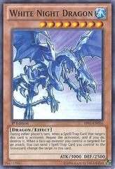 White Night Dragon - BP01-EN016 - Starfoil Rare - 1st Edition