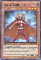 Level Warrior - BP01-EN208 - Starfoil Rare - 1st Edition