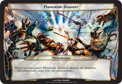 Planewide Disaster - Oversized Card