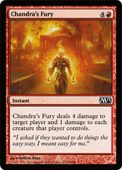 Chandra's Fury - Foil
