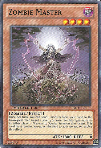 Zombie Master - GLD5-EN019 - Common - Limited Edition