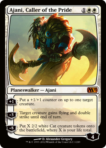 Ajani, Caller of the Pride - Foil